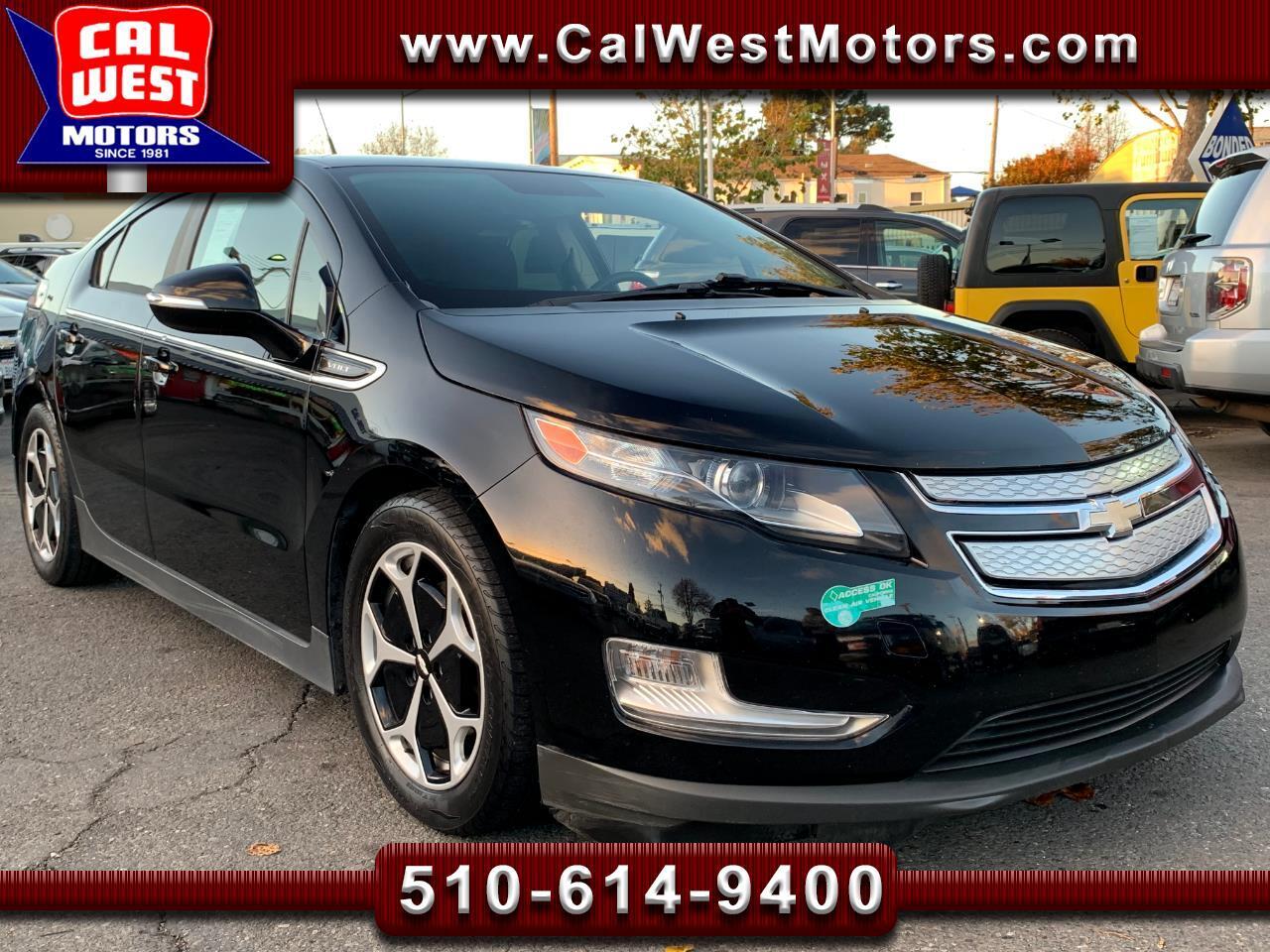 2013 Chevrolet Volt Voltec Electric Blu2th UnlimitedRange SuperClean