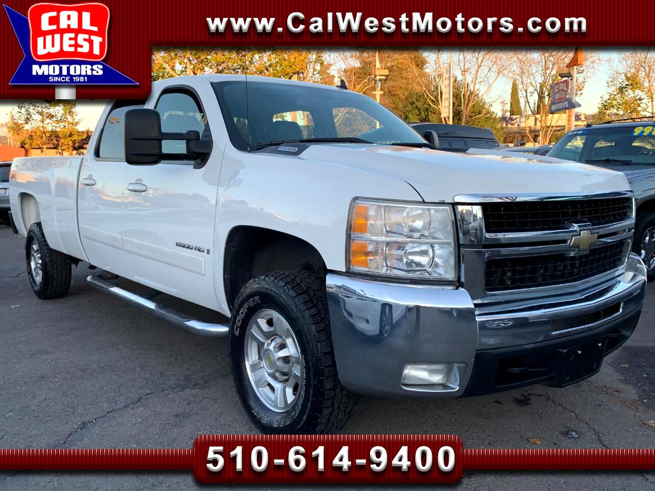 2008 Chevrolet Silverado 2500HD 4X4 LTZ Crew Cab 8FT NAV Duramax-Allison 1Owner