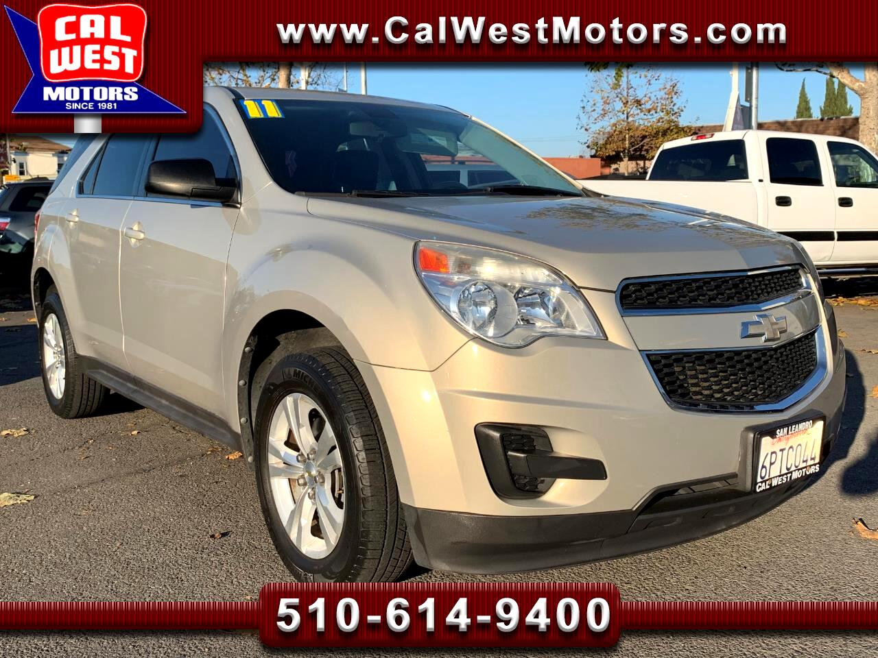 2011 Chevrolet Equinox LS 5D SUV Blu2th MPG+ SuperClean GreatMtnceHist