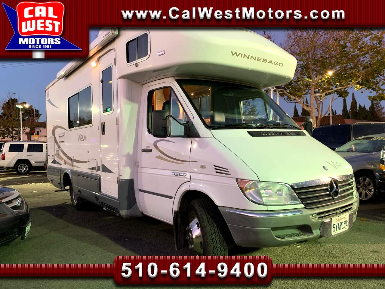 2007 Dodge Sprinter WINNEBAGO MotorHome 23Ft 57K 1Owner MPG+ Nice!