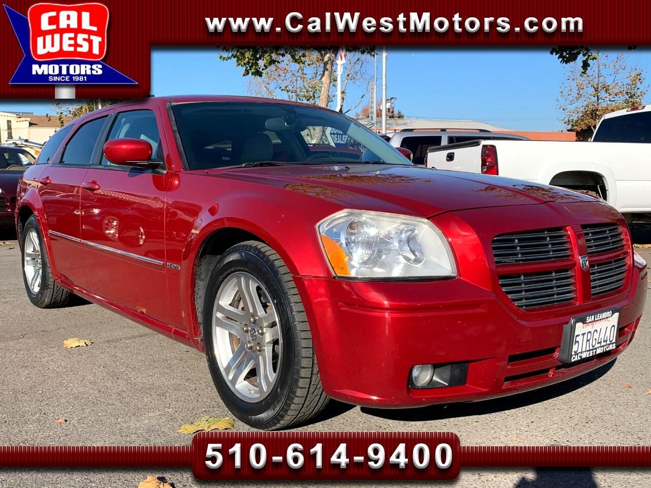 2006 Dodge Magnum R/T Sport Wagon Leather 1Owner LowMiles ExMtnce Ni