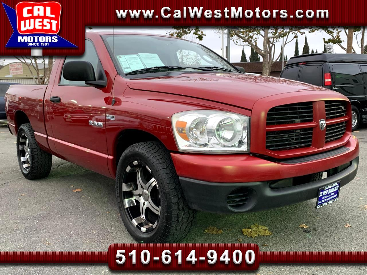 2008 Dodge Ram 1500 Regular Cab Short Bed 345HPHemiV8 ExClean GreatMtn