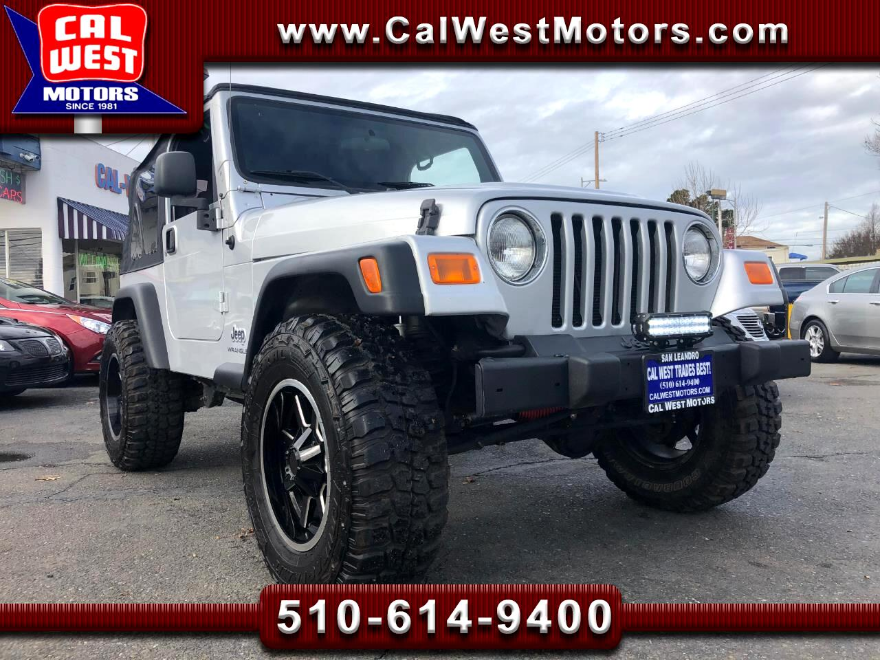 2006 Jeep Wrangler I-6 4X4 6-Speed AC Only59K VeryClean WellMntnd