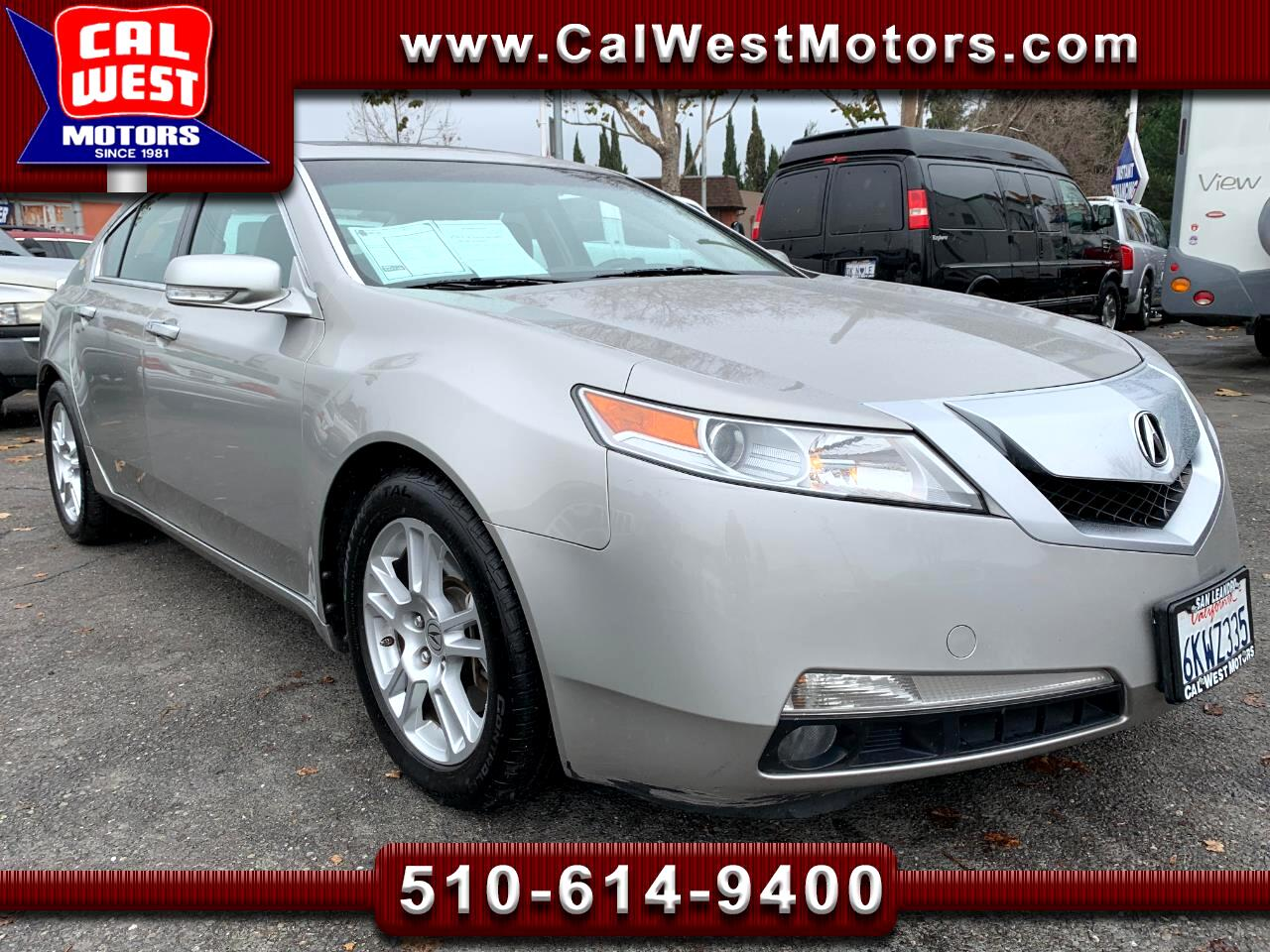 2010 Acura TL NAV TechPackage BUCam Blu2th 1Owner LoMiles ExMtnc