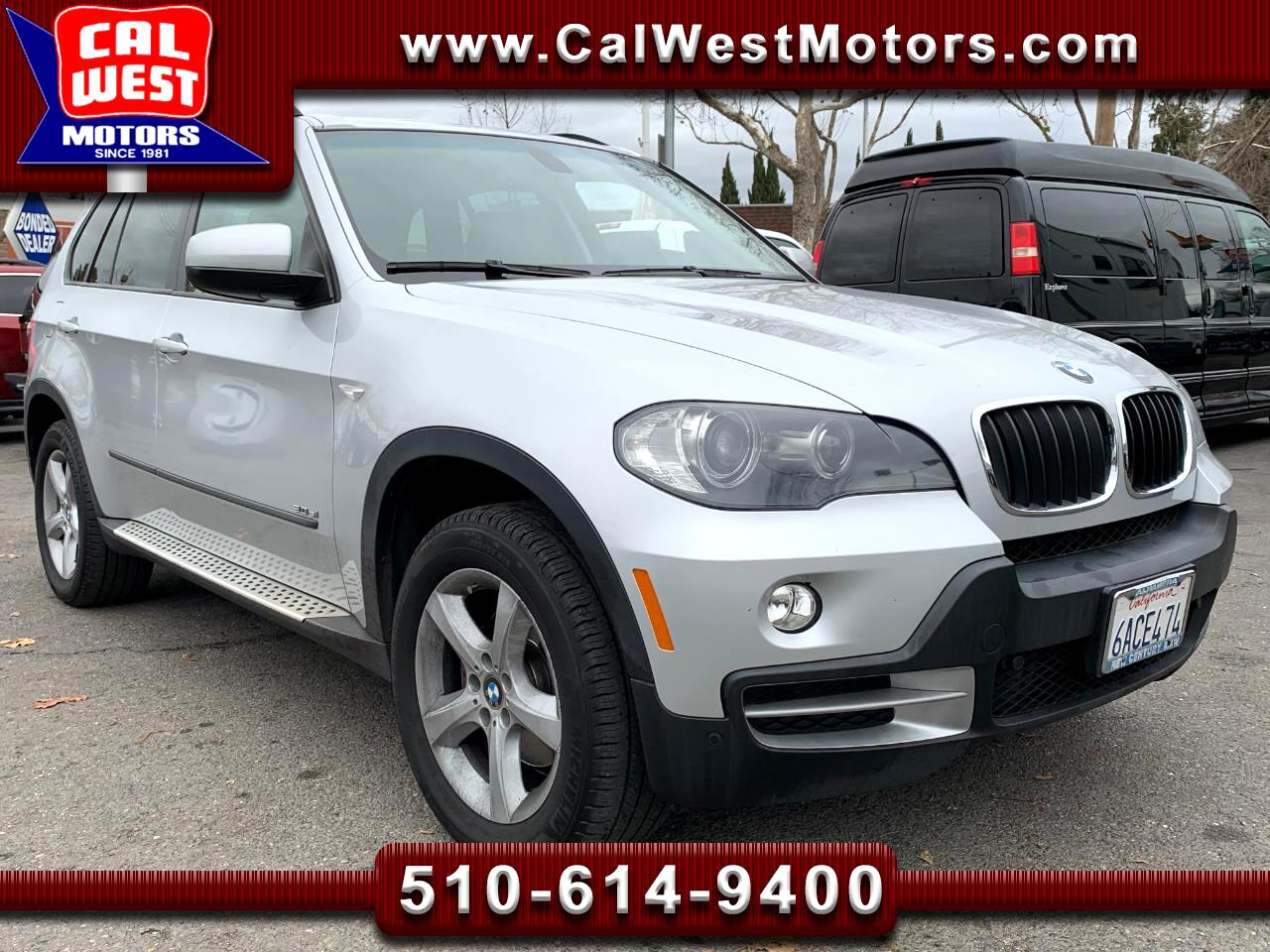 2007 BMW X5 AWD 5D 3.0si NAV BUCam Blu2th 1Owner SuperNice