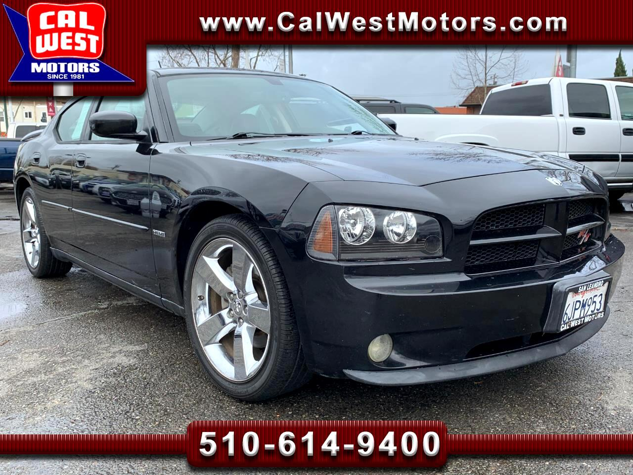 2008 Dodge Charger R/T Performance Leathr NAV 340HP LoMiles VeryClean