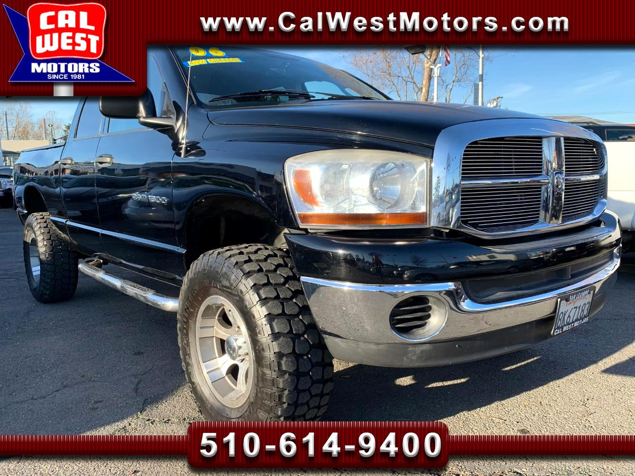 2006 Dodge Ram 1500 SLT Quad Cab Lifted LowMiles VeryClean WellMntnd