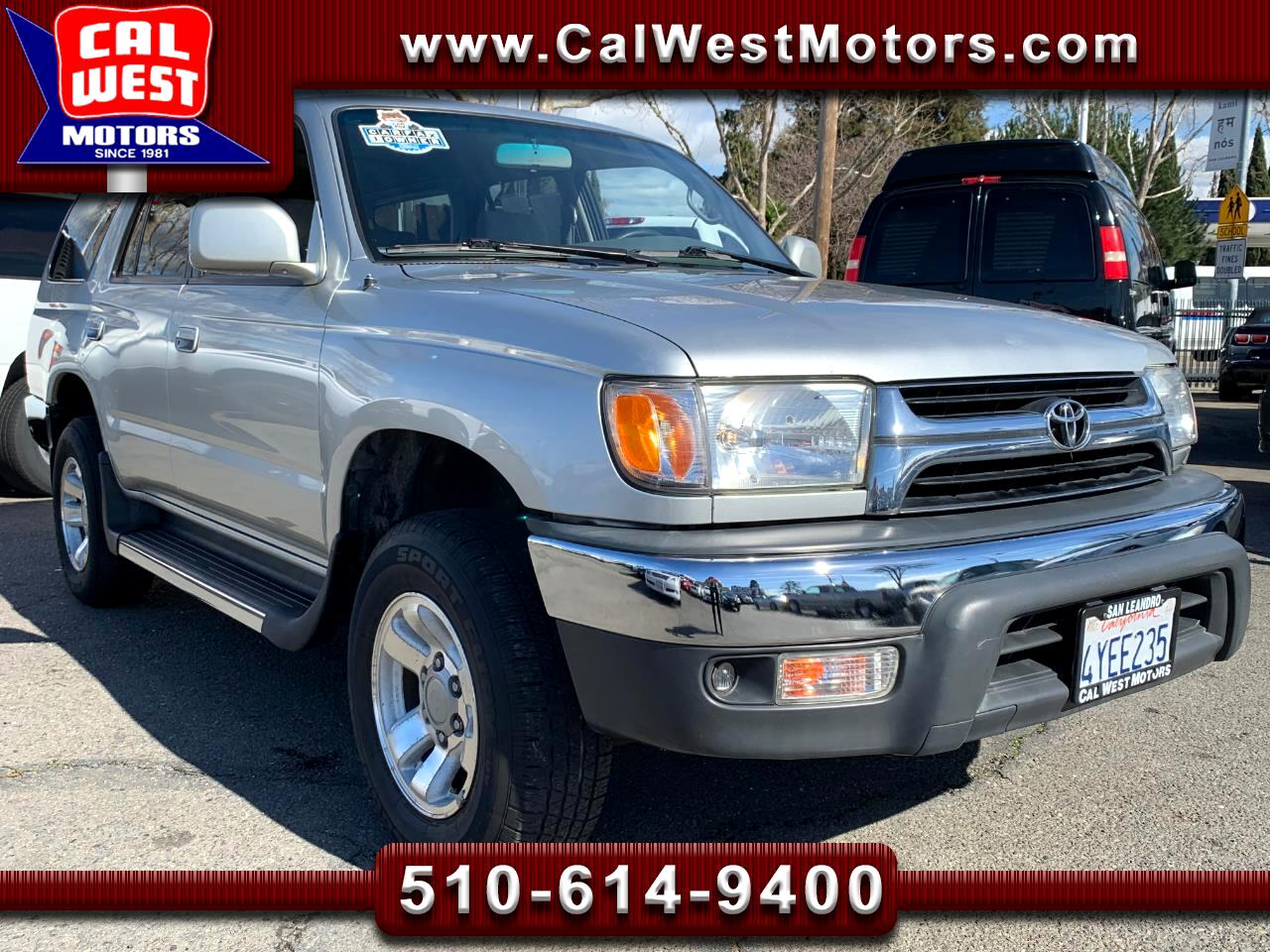 2002 Toyota 4Runner SR5 V6 Auto AC 1Owner VeryClean GreatMtnce