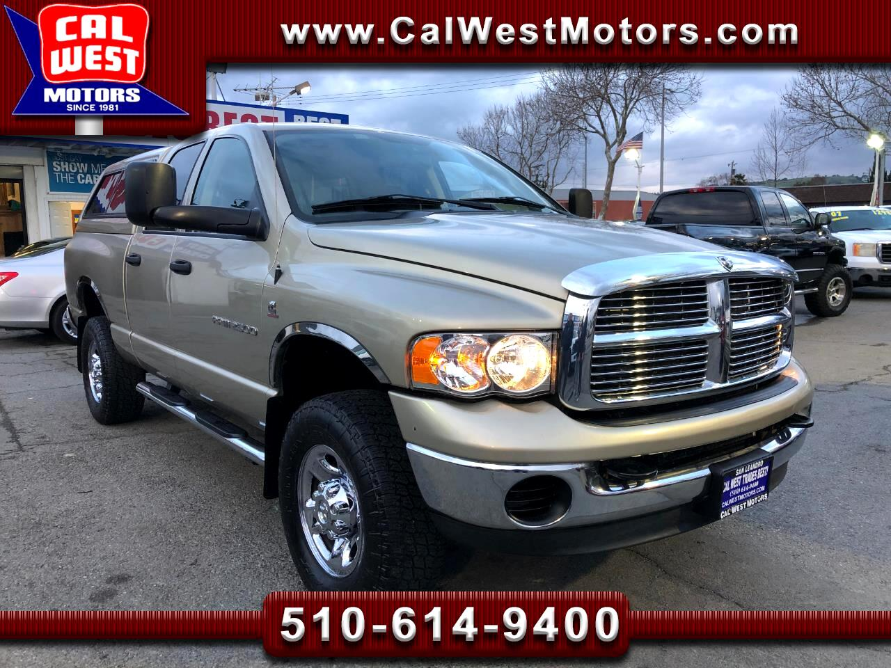 2004 Dodge Ram 2500 4X4 Quad SLT CumminsDiesel GreatMtnce SuperNice