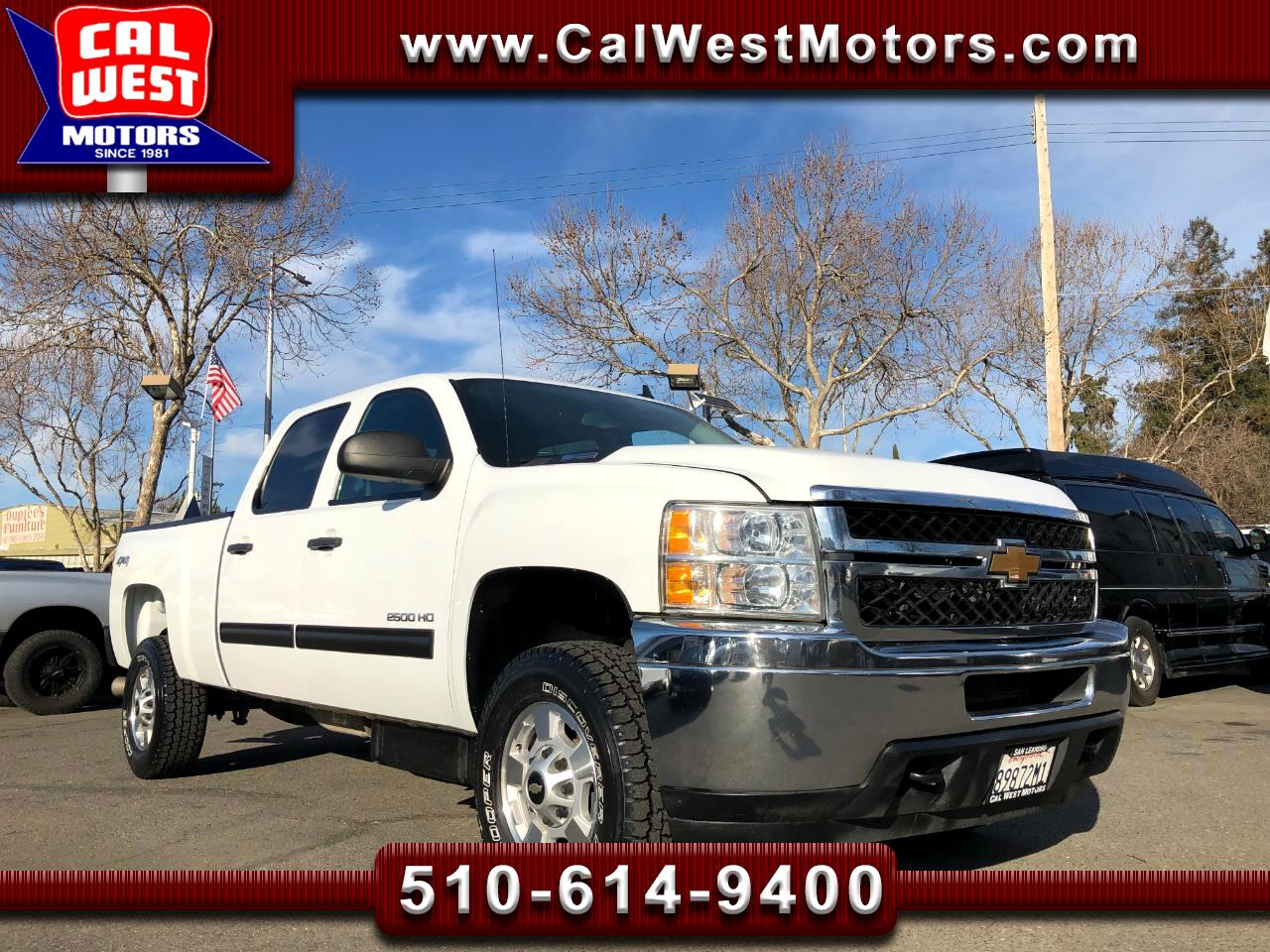 2014 Chevrolet Silverado 2500HD 4X4 Z71Off-Road LT Duramax-Alison SuperClean