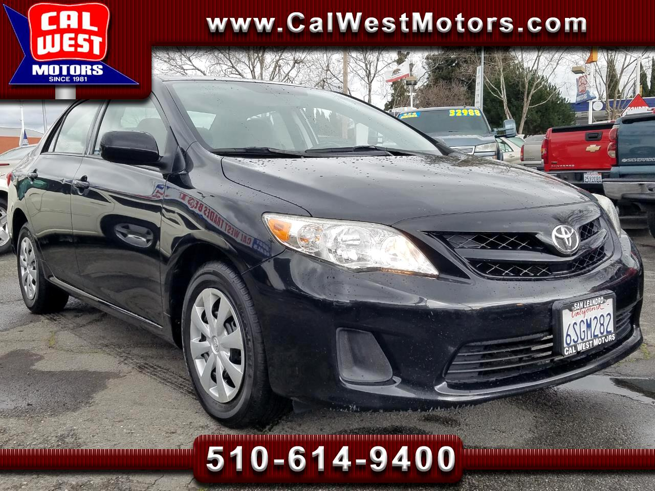 2011 Toyota Corolla LE Auto Blu2th CD 1Owner VeryClean GreatMPG