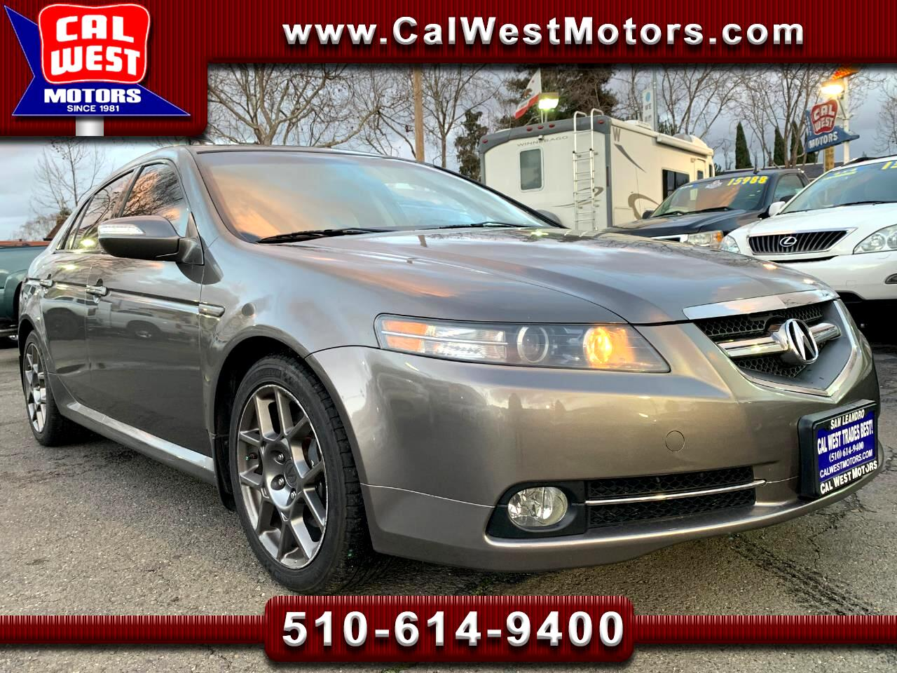 2007 Acura TL Type-S NAV Blu2th SuperNice GreatMtnceHist