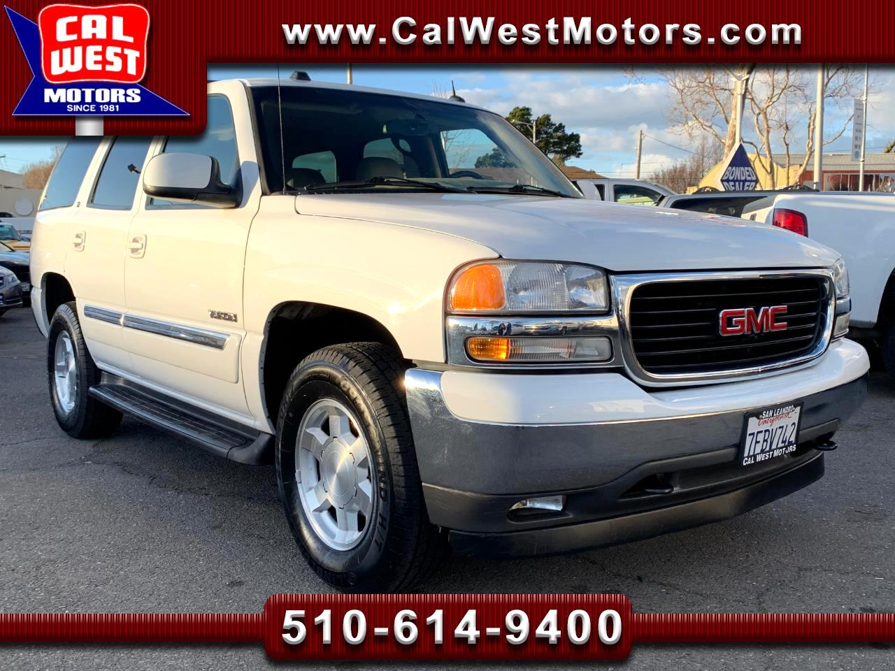2005 GMC Yukon 4X4 3Rows Leather BOSE MnRoof VeryClean ExMtnce