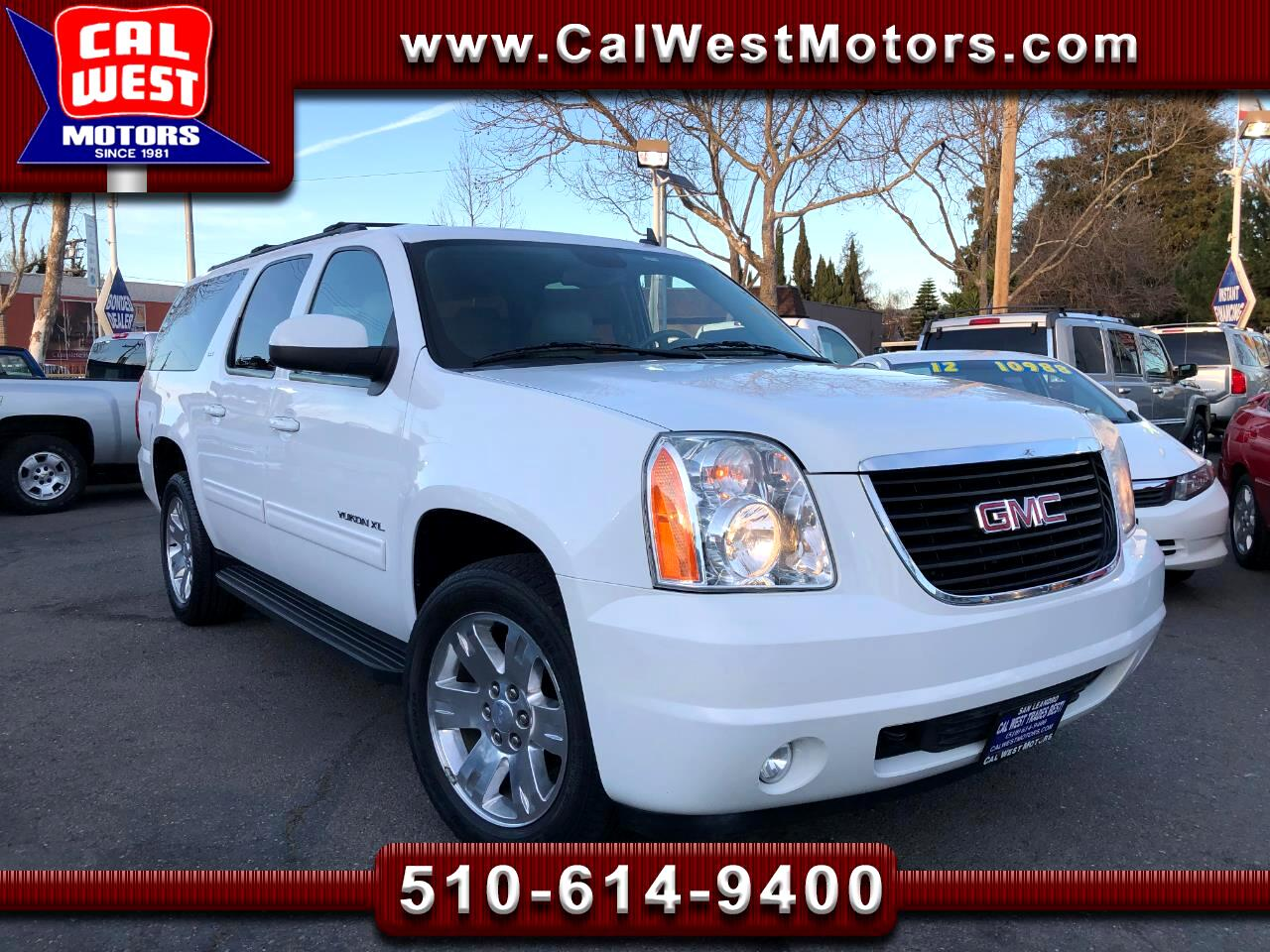 2011 GMC Yukon XL 4X4 SLT SmoothRide 3Row NAV DVD 1Owner SuperNice