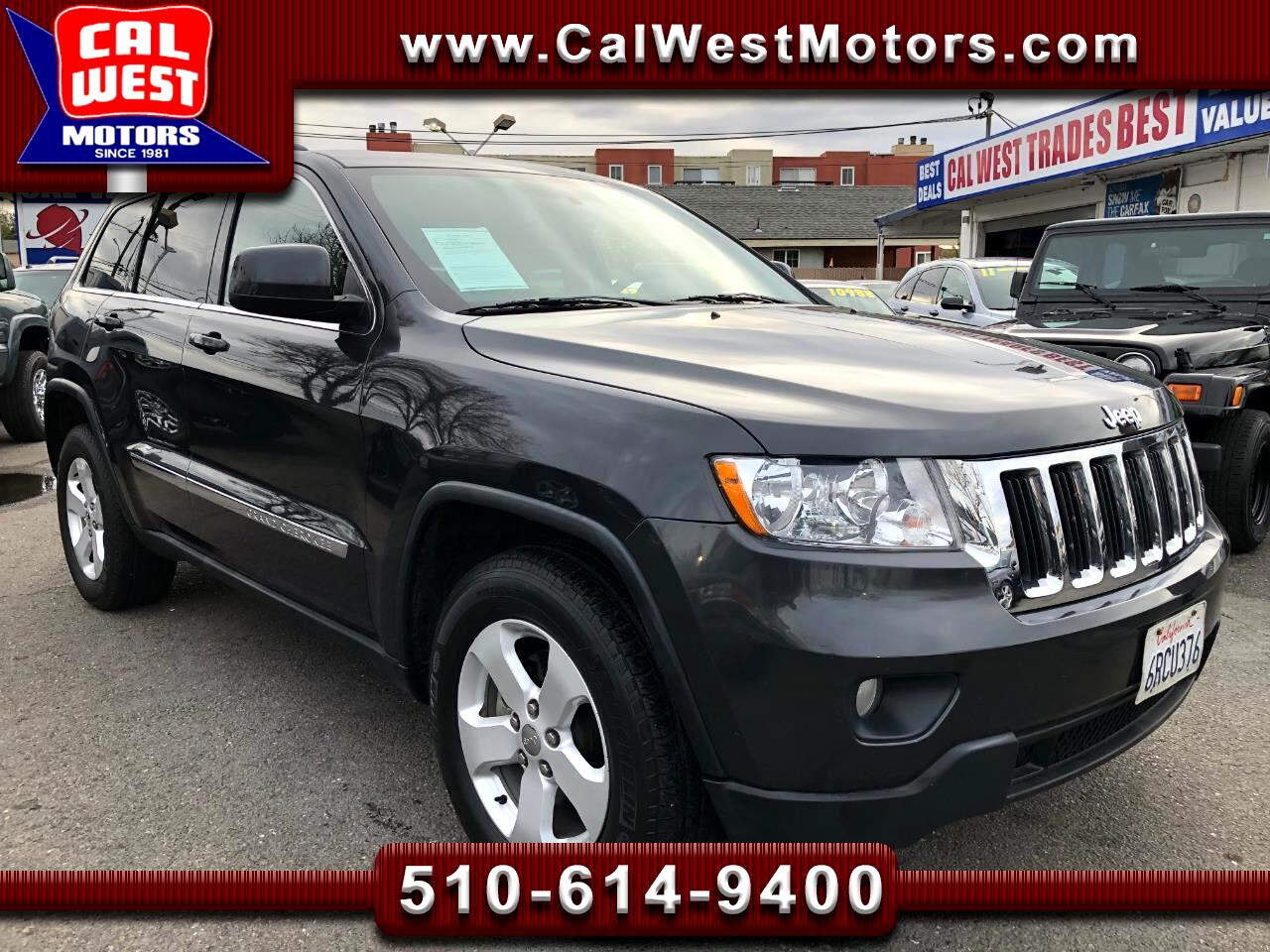 2011 Jeep Grand Cherokee 4WD Laredo Roof Leathr LowMiles 1Owner SuperNice