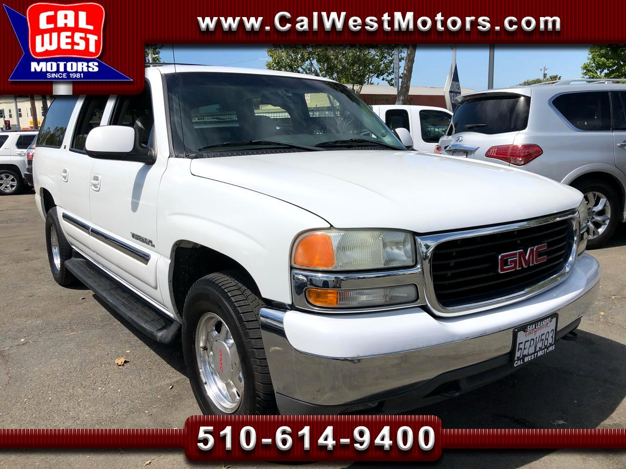 2003 GMC Yukon XL 4X4 SLT 3Row Leathr BOSE 1Owner ExClean GreatMtnce
