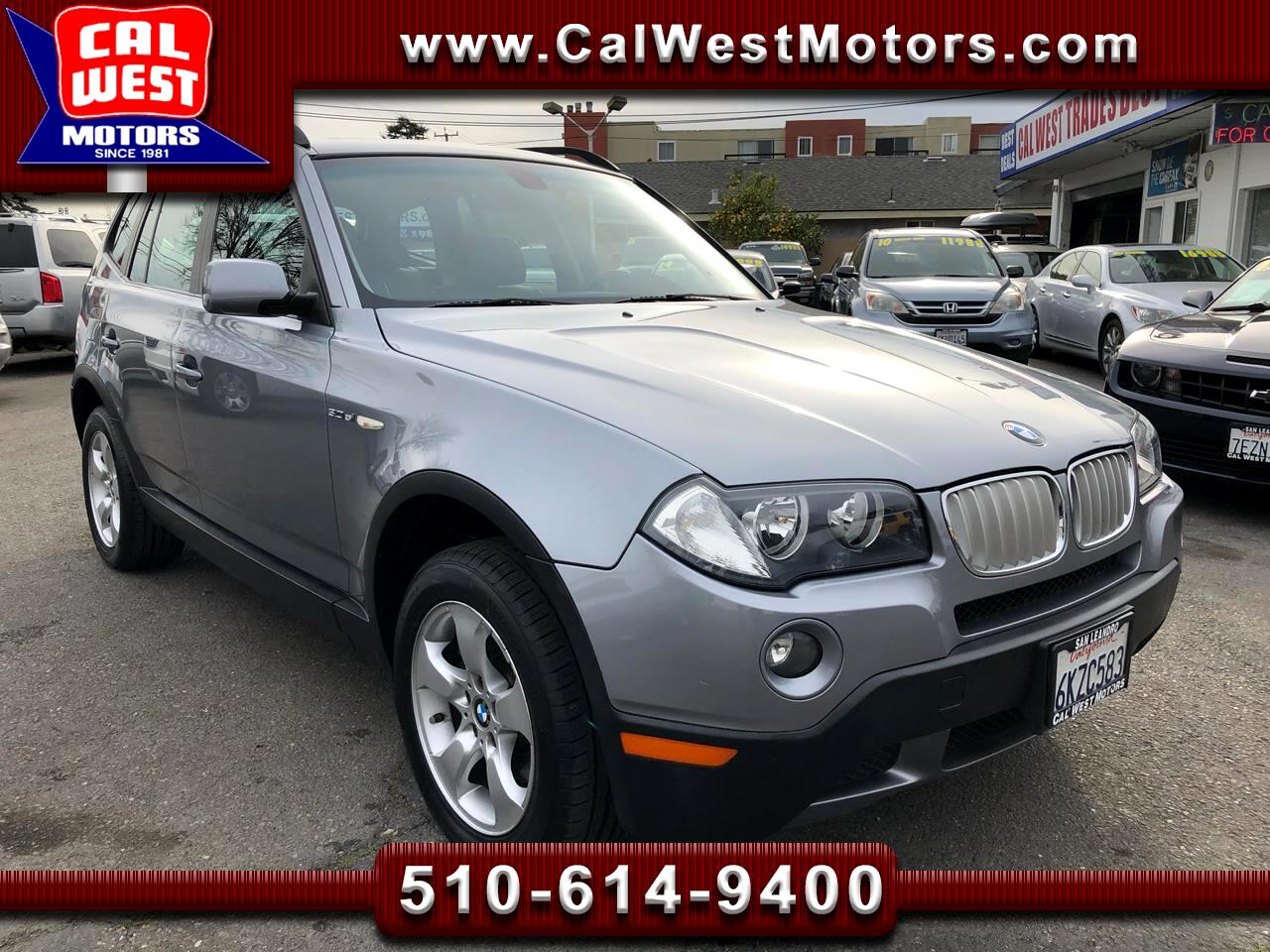 2008 BMW X3 AWD 3.0 Si Premium Blu2th Only42k VeryClean ExMtnc