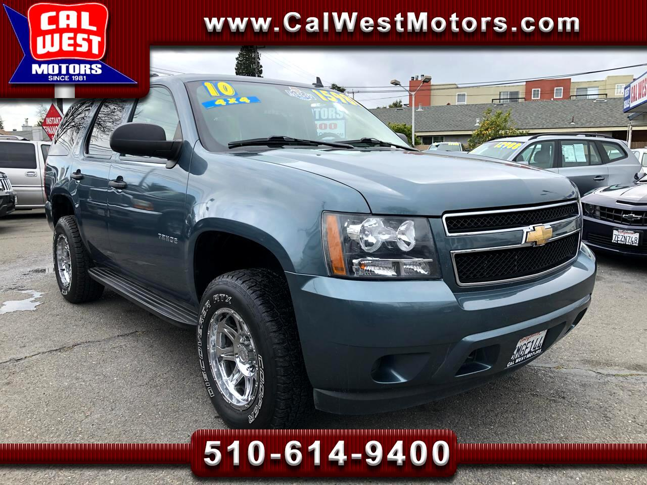 2010 Chevrolet Tahoe 4X4 3Rows Blu2th ProCompWhls 1Owner ExMtnce Nice