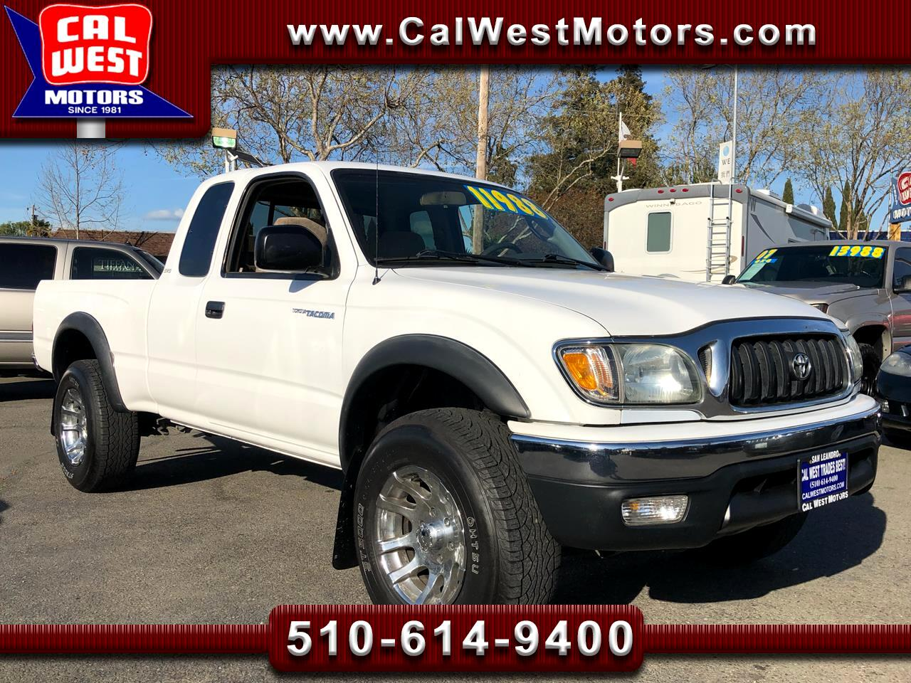 2004 Toyota Tacoma PreRunner XtraCab V6 SR5 1Owner SuperClean