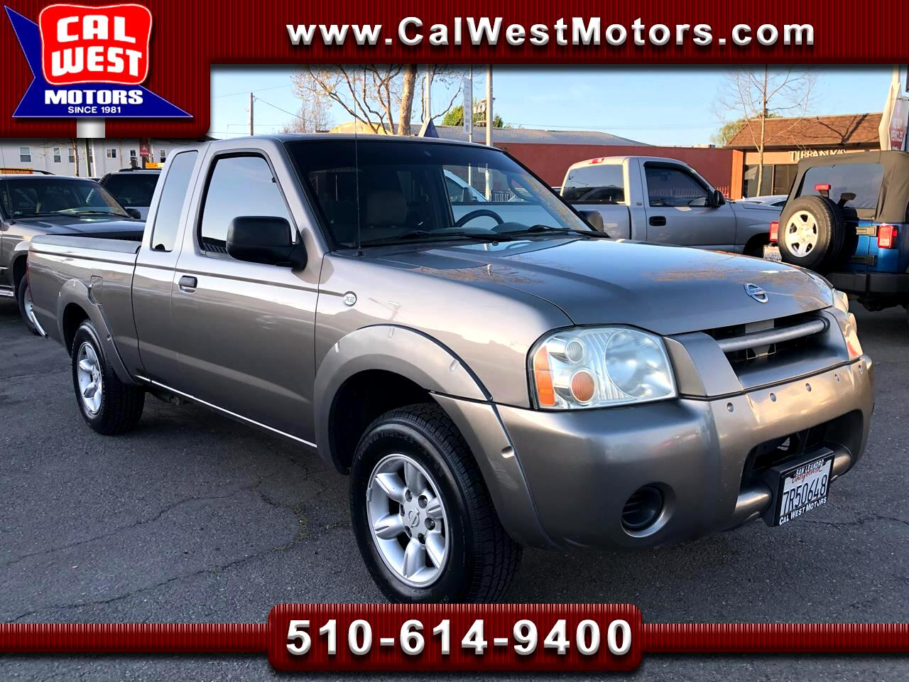 2004 Nissan Frontier XE king Cab 5-Speed AC LowMiles VeryClean