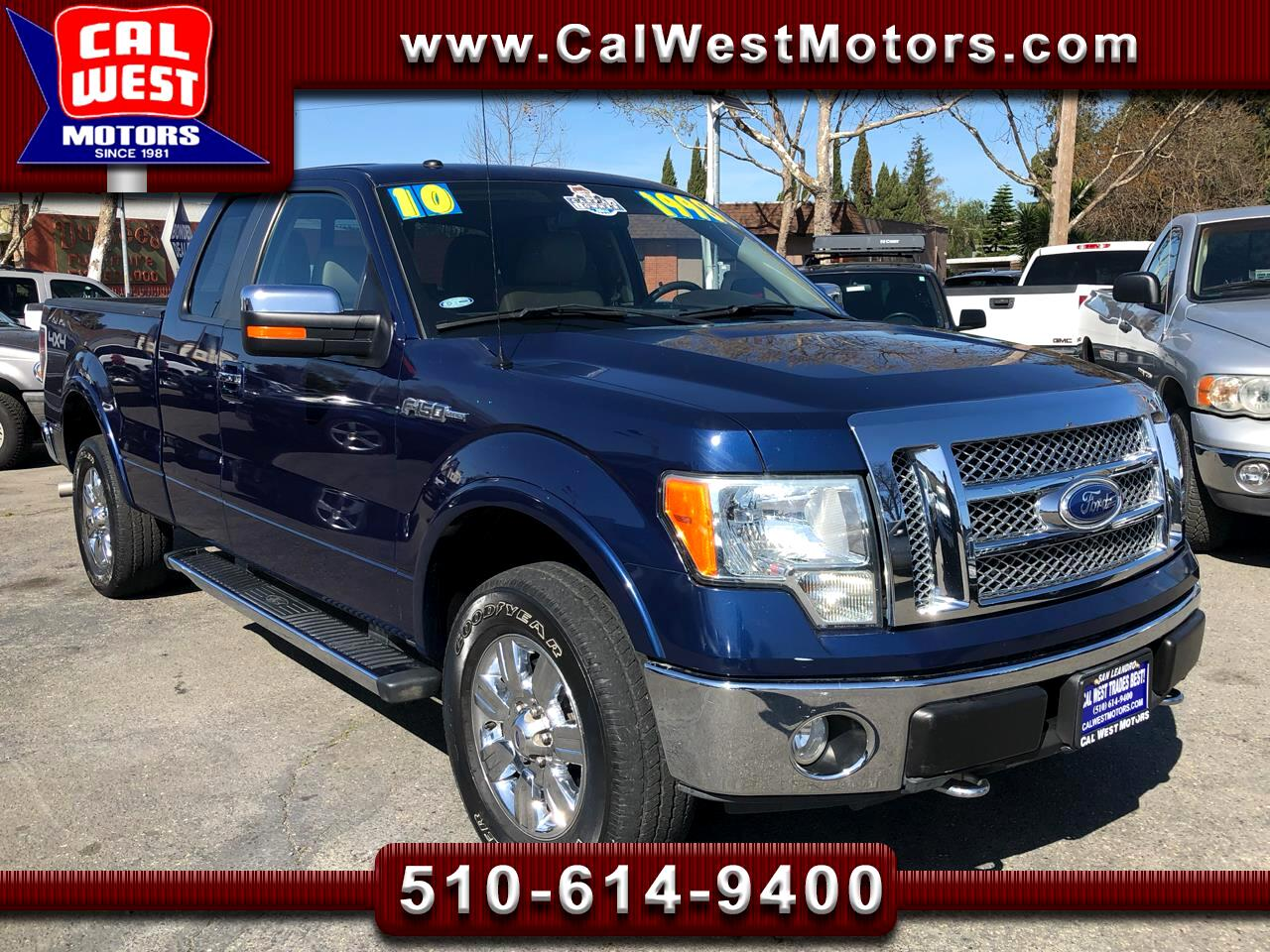 2010 Ford F-150 4X4 Supercab Lariat 1Owner Loaded GreatMtnceHistor