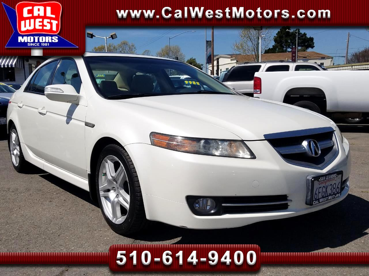 2008 Acura TL Premium Sedan NAV BUCam Blu2th 1Owner LowMiles