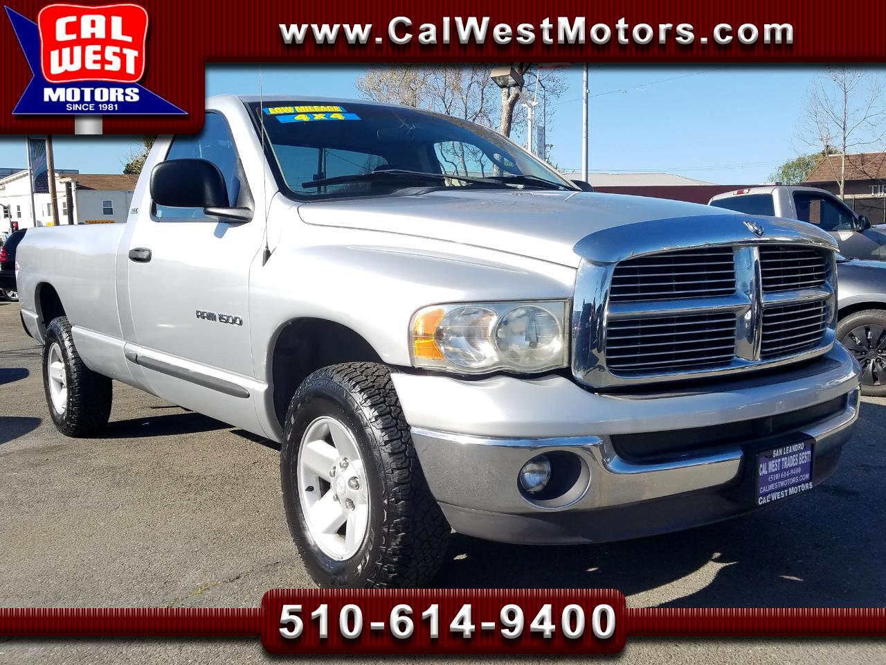 2002 Dodge Ram 1500 4X4 LongBed LowMiles 1Owner ExpertlyMntnd VeryClea