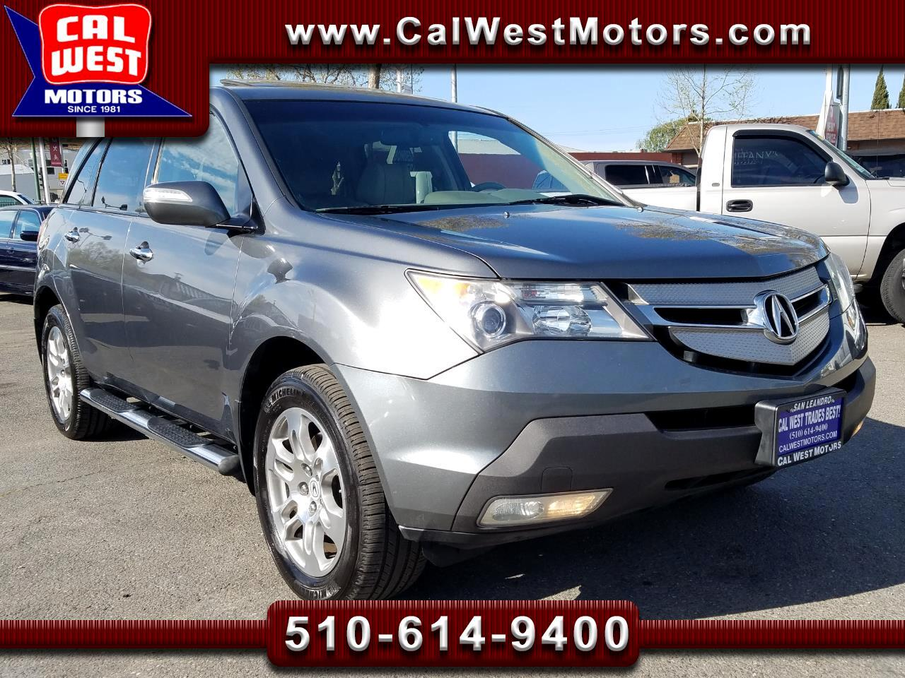 2008 Acura MDX AWD TechPkg DVD NAV 1Owner SuperClean ExMtnce