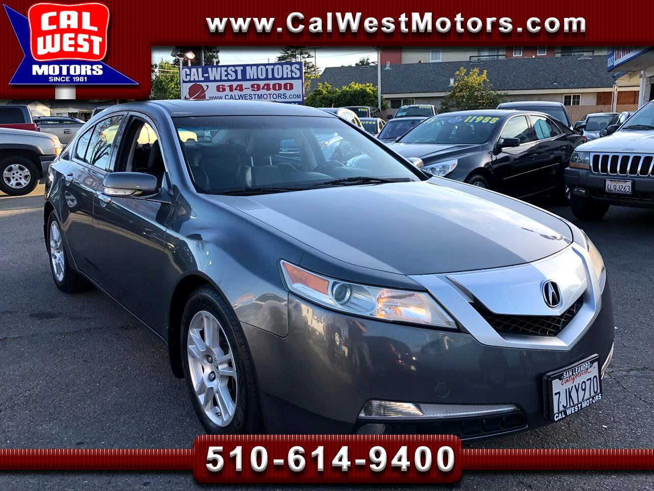 2009 Acura TL Luxury Sedan TechPkg NAV BUCam LoMiles SuperNice