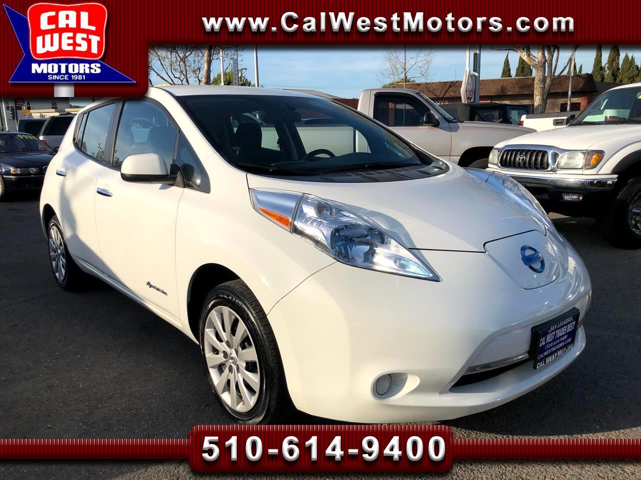 2013 Nissan Leaf Electric HatchBack 5D 0-Emissions SuperPractical