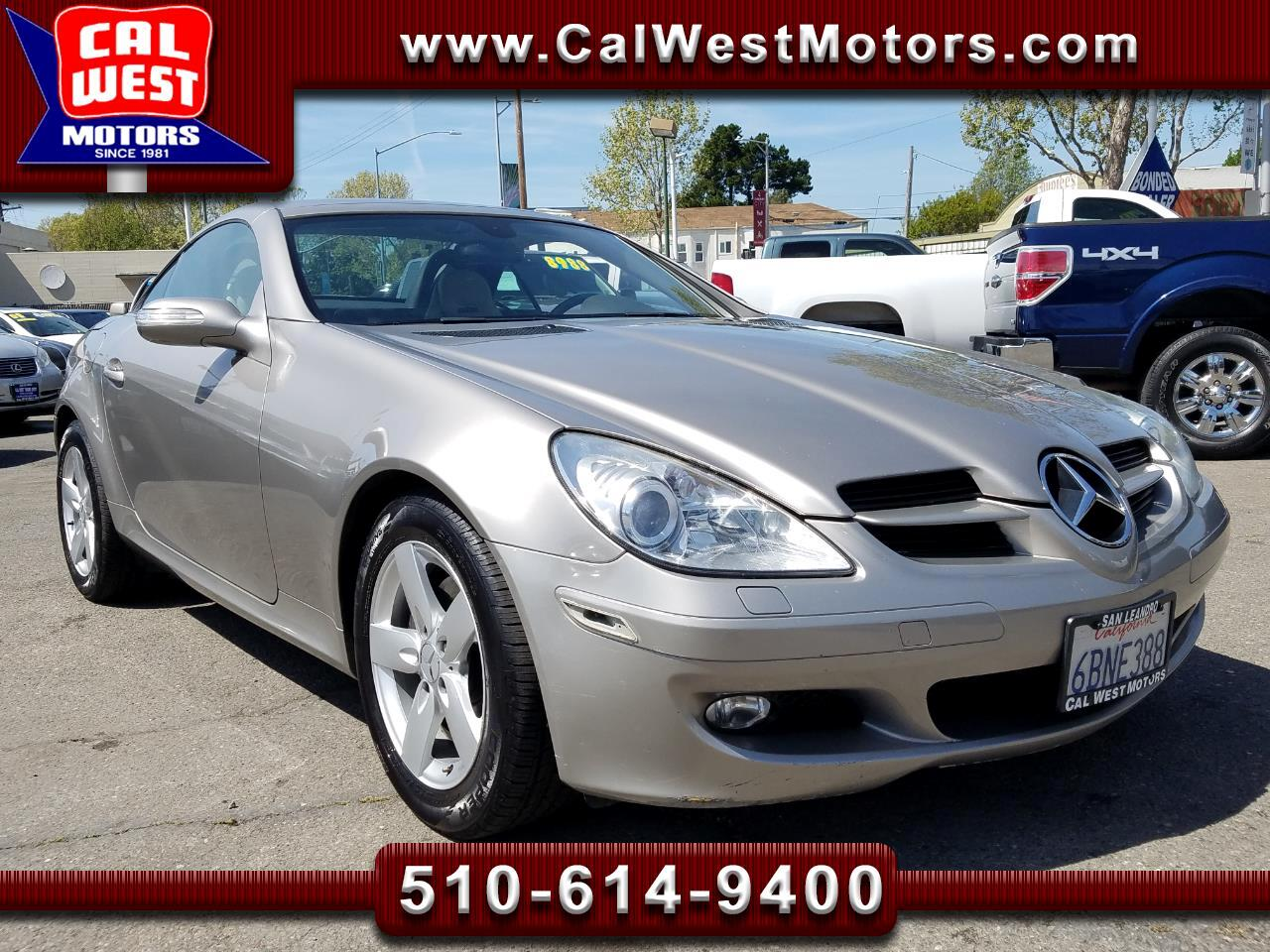 2007 Mercedes-Benz SLK SLK Roadster designo HKAudio 1Owner SuperClean