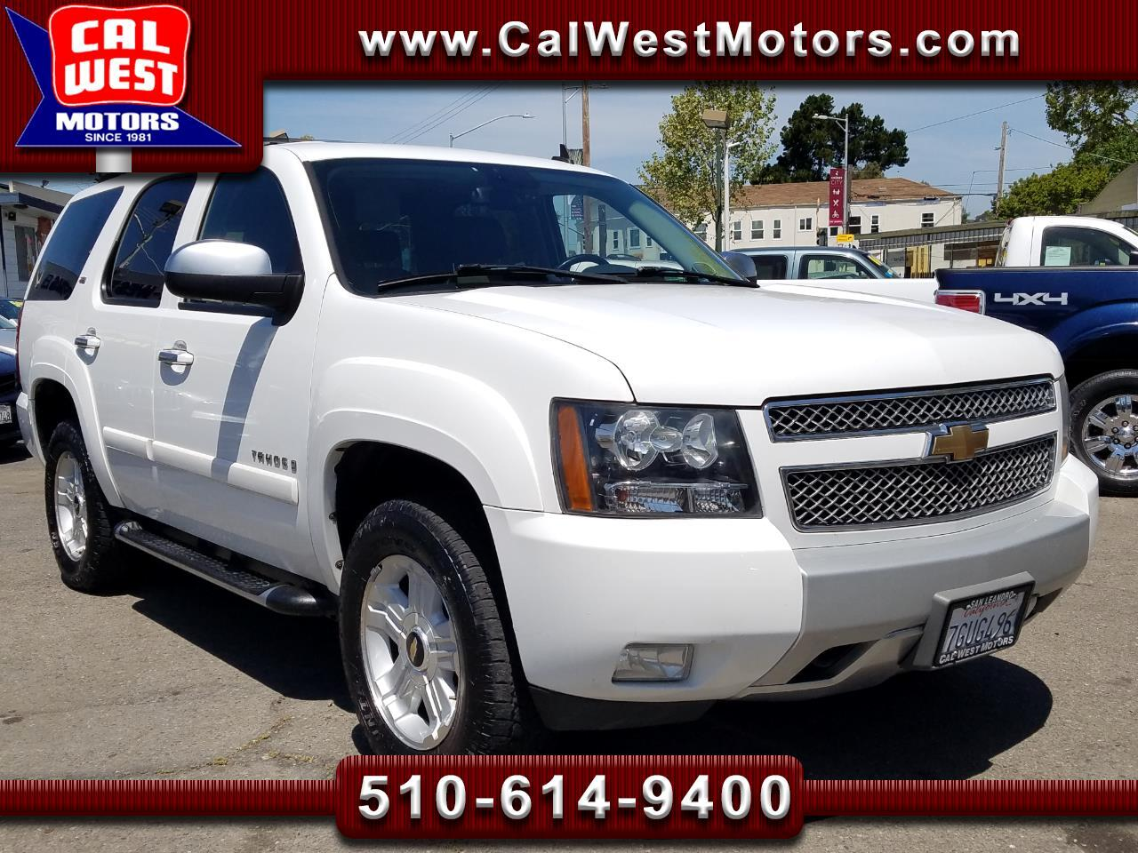 2007 Chevrolet Tahoe 4X4 Z71Pkg NAV BUCam VeryClean 1Owner