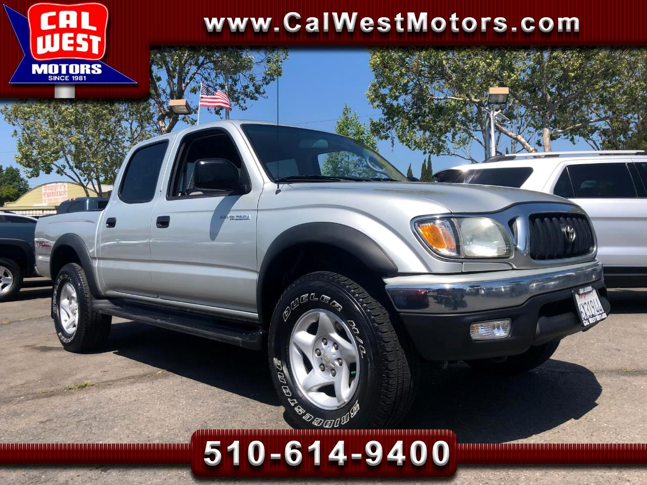 2002 Toyota Tacoma 4WD Double Cab V6 TRDOffRoad 1Owner LoMiles Nice