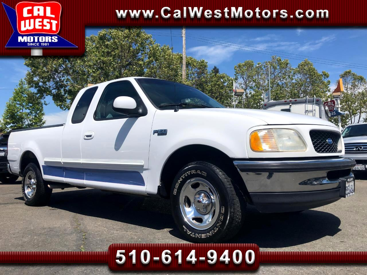 1997 Ford F-150 SuperCab Short Bed 3DR Blu2th AUX ExprtlyMaintaind