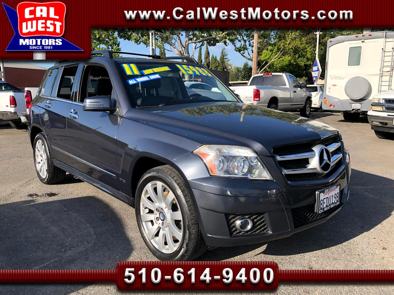 2011 Mercedes-Benz GLK-Class AWD GLK350 4MATIC PanoRoof LowMiles SuperNice