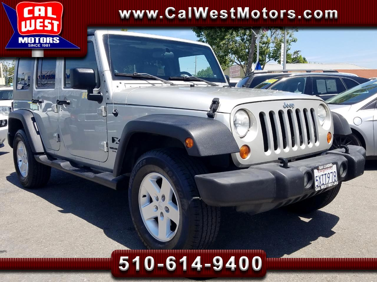 2007 Jeep Wrangler 4WD Unlimited HardTop 6-Speed LoMiles GreatMtnce