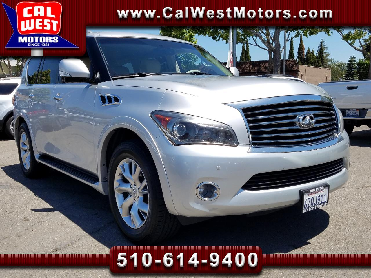 2011 Infiniti QX56 4WD 7Pass NAV TheaterPkg Loaded ExMtnce Luxurious