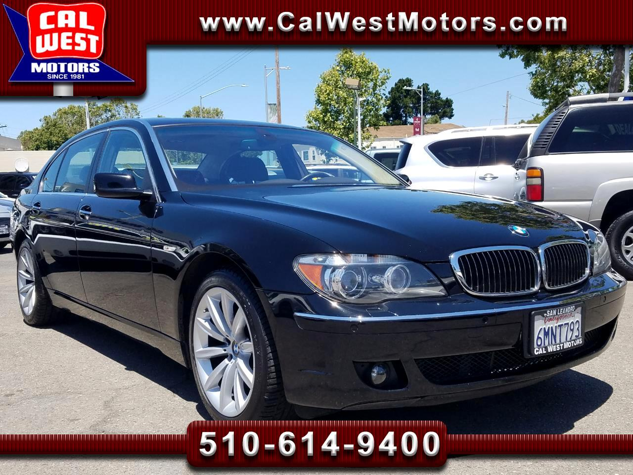 2008 BMW 7-Series 750LI Luxury Sedan NAV LoMiles SuperNice ExMtnce