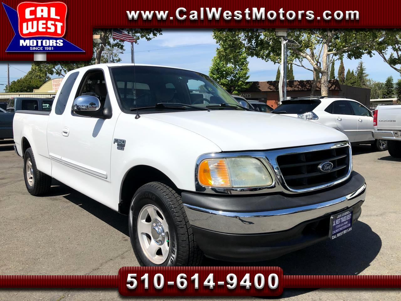 2002 Ford F-150 Super Cab 4D XLT  LoMiles SuperClean ExpertlyMntnd