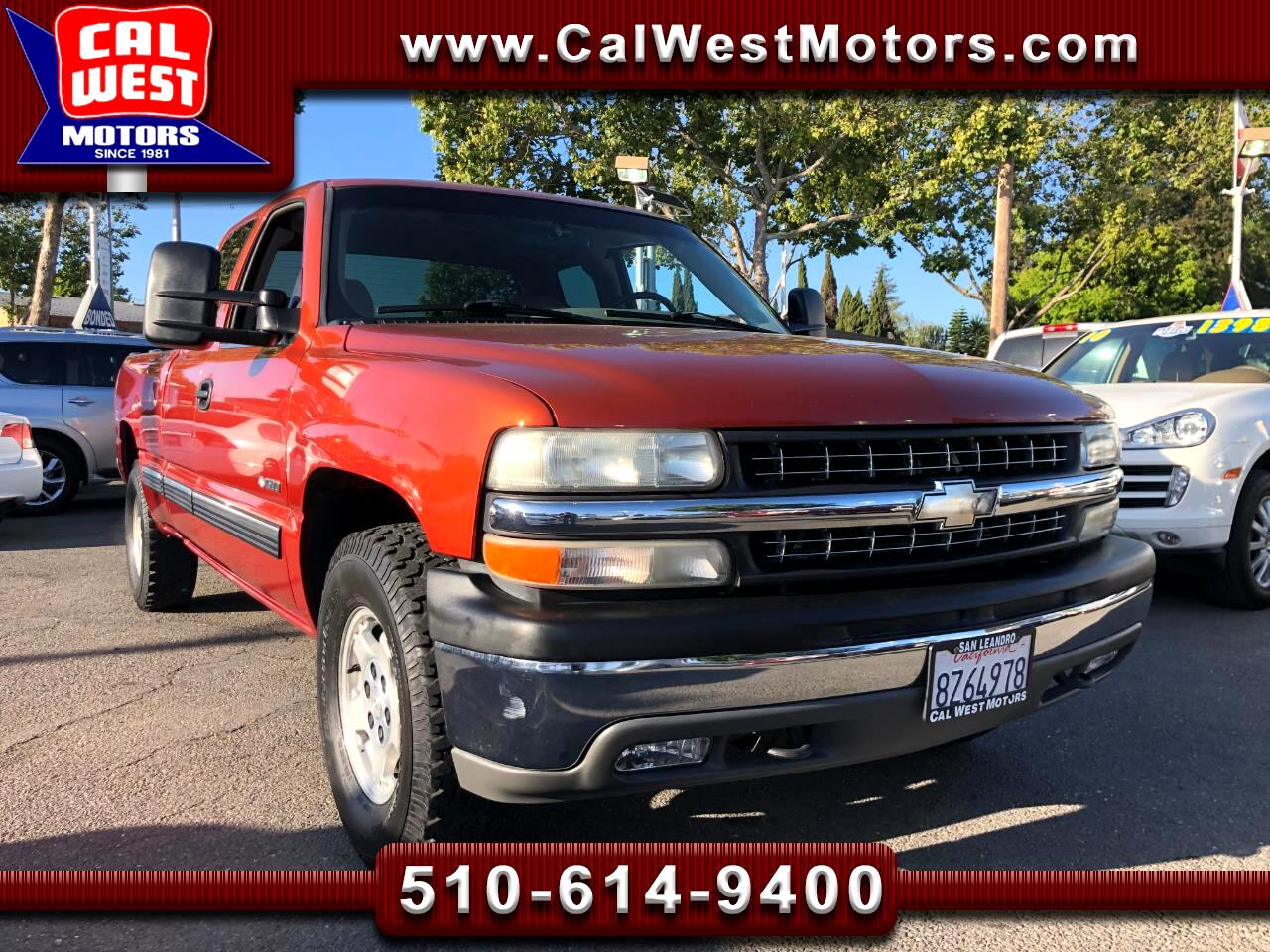 2001 Chevrolet Silverado 1500 4X4 Z71OffRoad TowPk LoMiles VeryClean ExMtnce