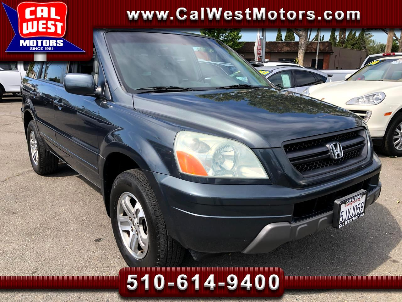 2004 Honda Pilot EX-L 3Rows Leathr LoMiles SuperClean GreatMtnce