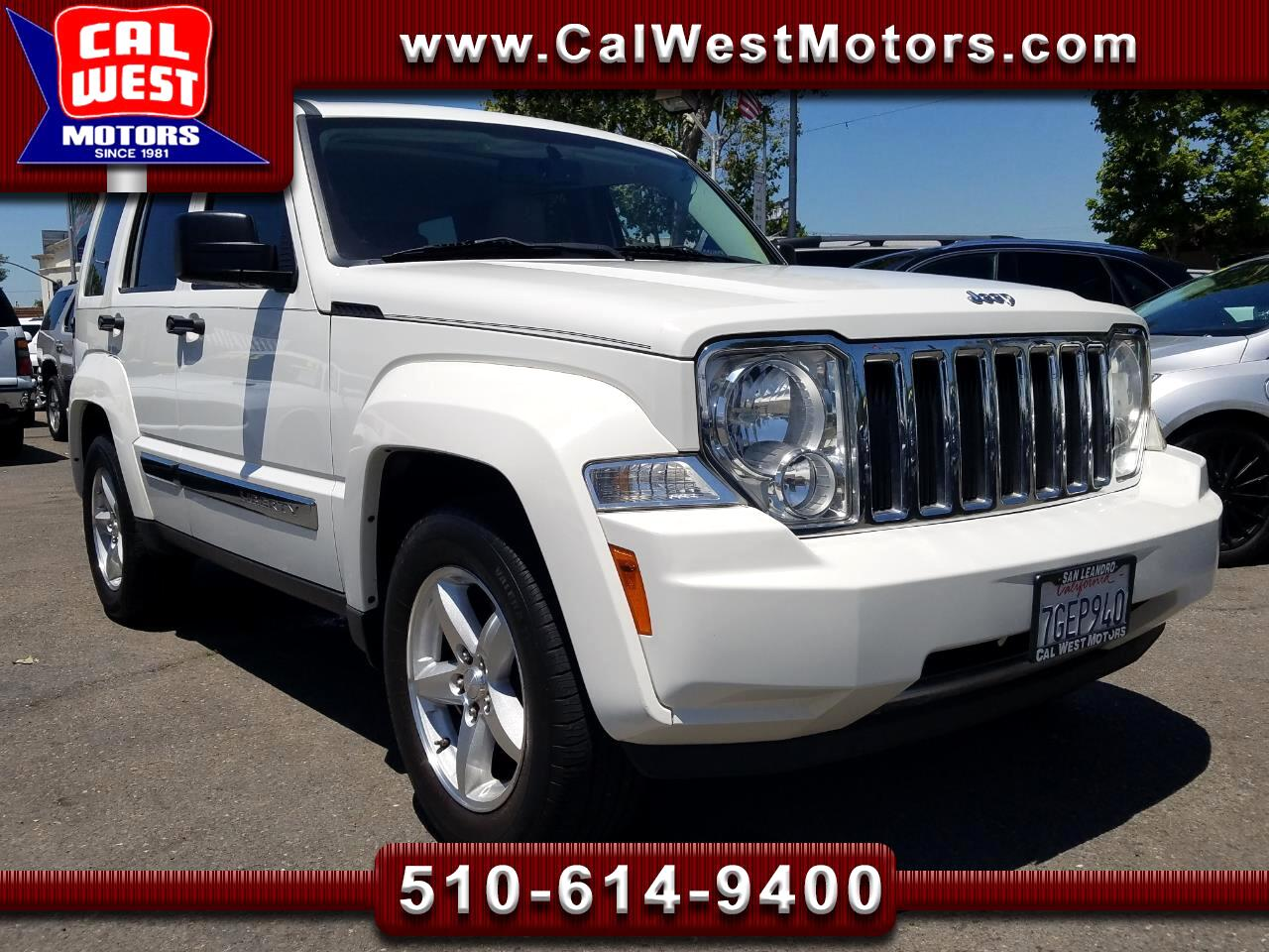 2009 Jeep Liberty Limited 4WD SUV TrailRated MnRoof Blu2th ExprtMain