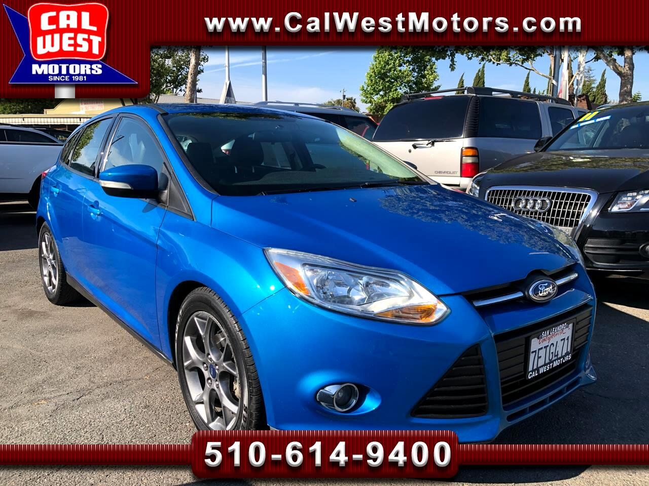 2014 Ford Focus SE HatchBack SportsPkg SYNC Leathr 1Owner SuperNic