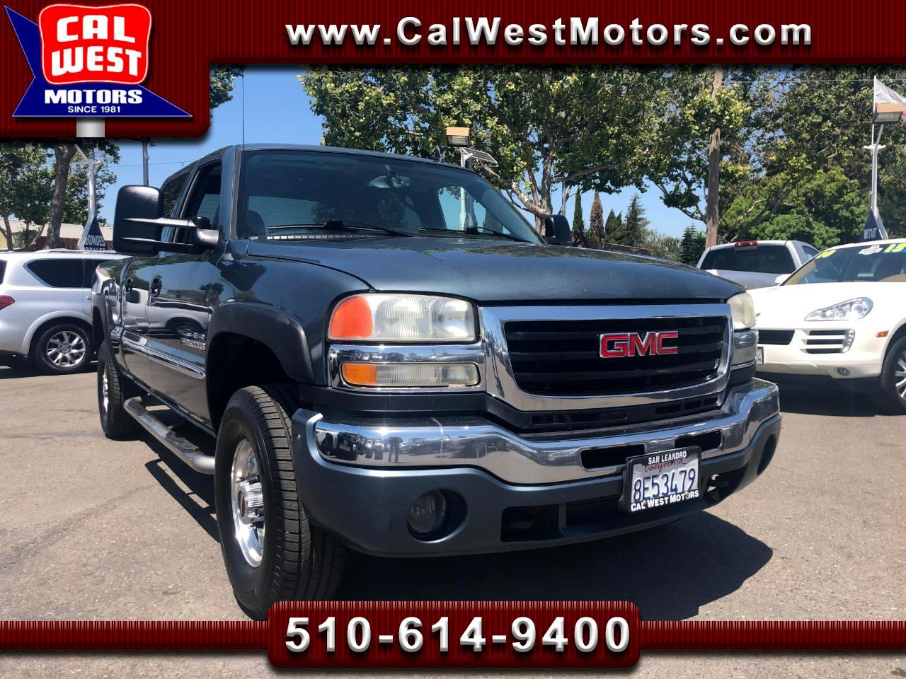 2007 GMC Sierra Classic 2500HD SLE2 Crew Cab 4WD Duramax LBZ 1Owner ExprtMantnce