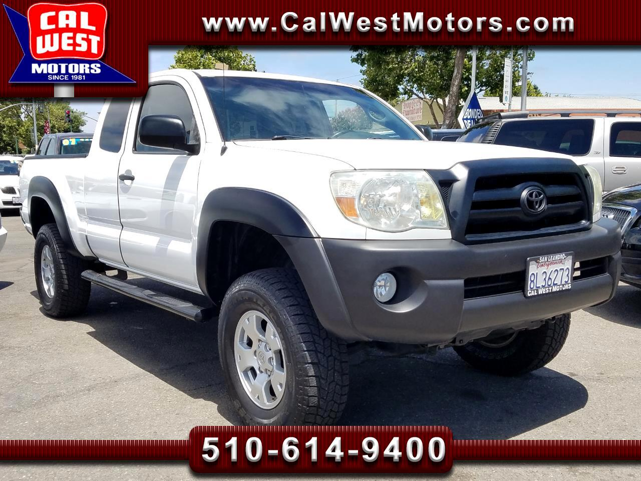 2007 Toyota Tacoma 4X4 Access Cab 4D 5-Speed 1Owner ExMtnce SuperNice