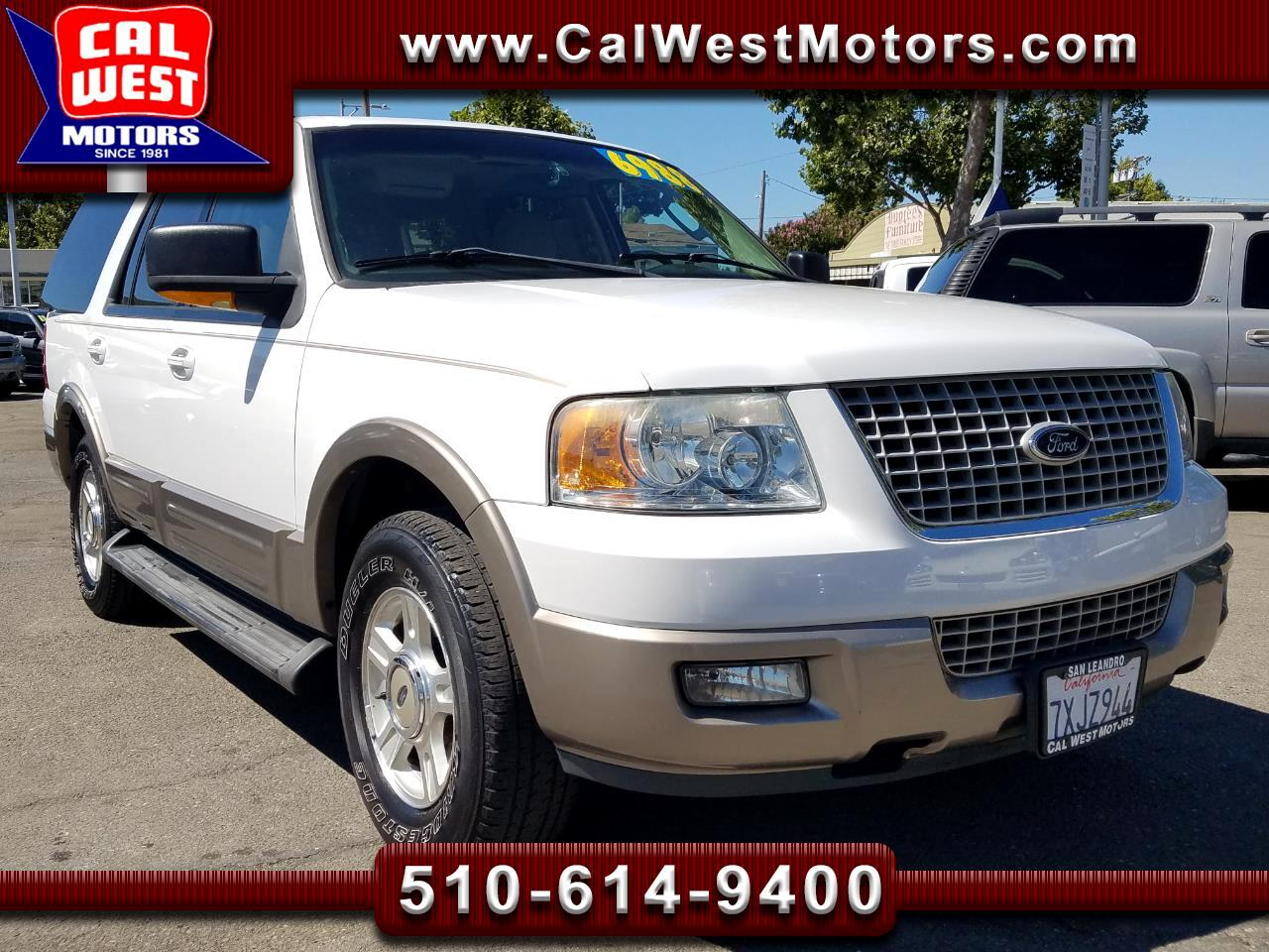 2003 Ford Expedition Eddie Bauer 5.4L 3Rows DVD Roof Leather Nice