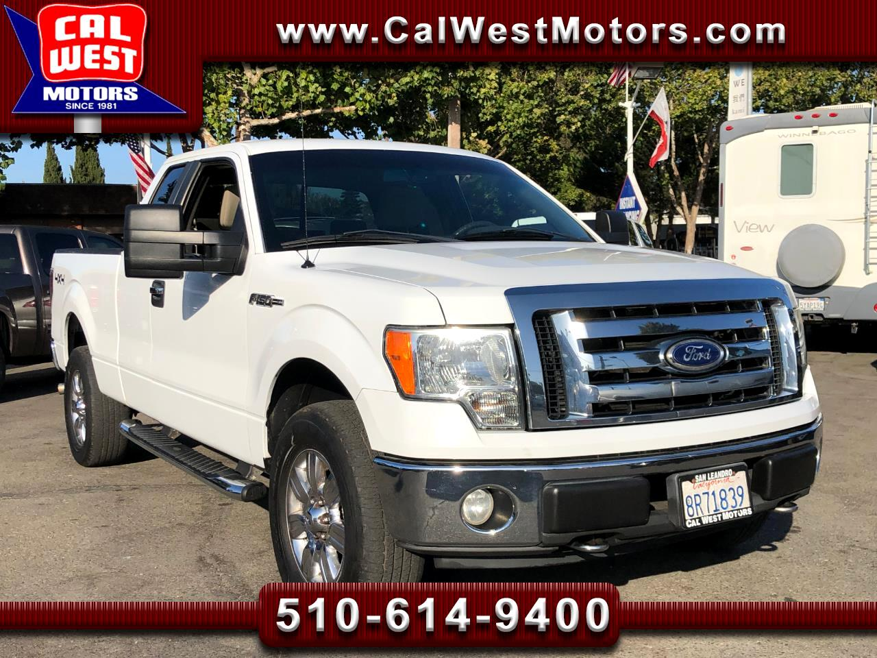 2009 Ford F-150 4X4 SuperCab 6.5Ft SYNC  1Owner VeryClean ExMtnce