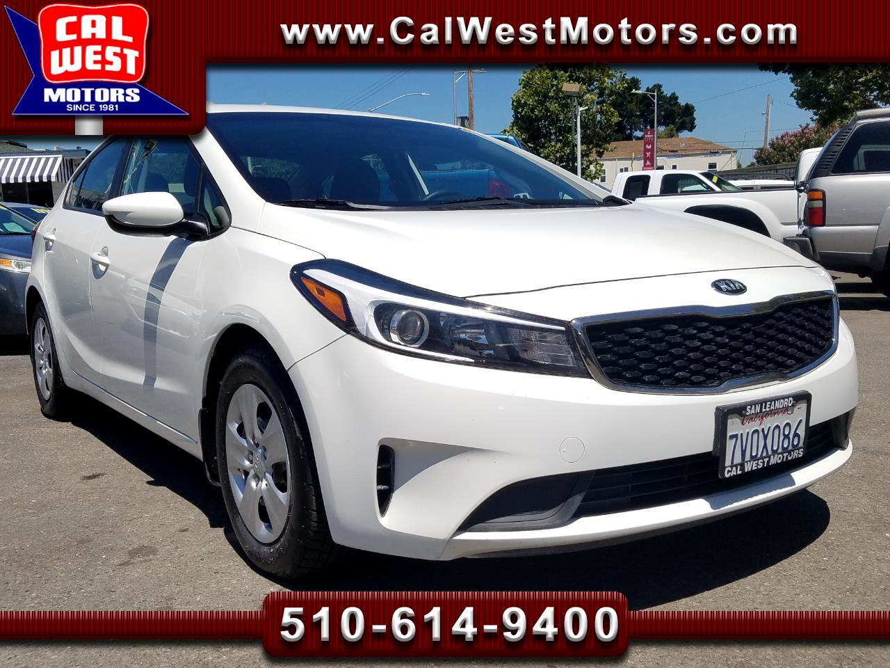 2017 Kia Forte Sport Sedan Blu2th MPG+ VeryClean 1Owner GreatMtnc