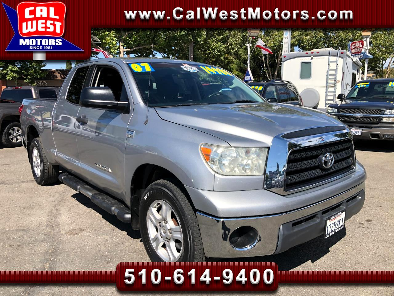 2007 Toyota Tundra SR5 Double Cab iForceV8 1Owner SuperNice GreatMtnc