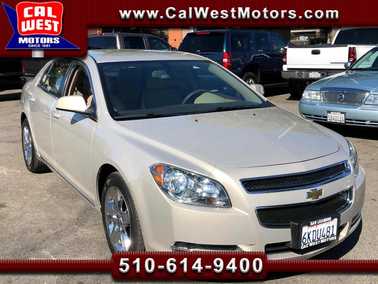 2009 Chevrolet Malibu LT Sedan Only42K Leather 1Owner SuperClean